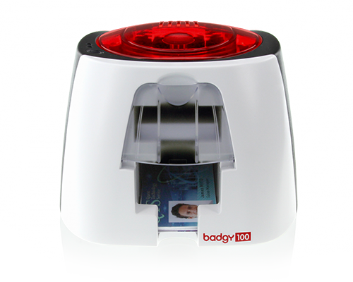 De badgy 100 card printer